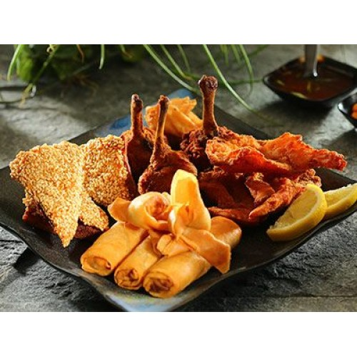 Oriental Mixed Appetisers (for 2 persons)