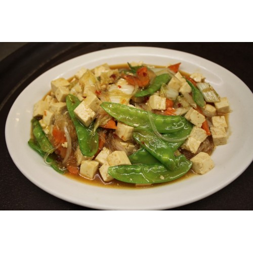 Beancurd with Mixed Vegetables