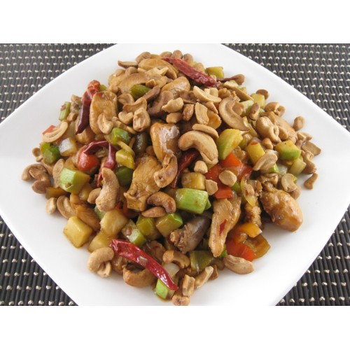 Kung Po Beancurd with Cashew Nuts