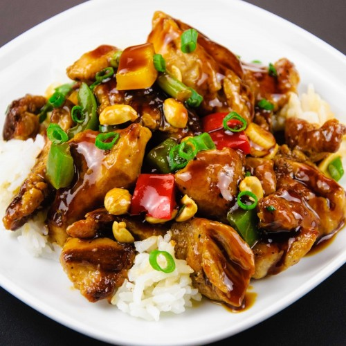 Kung Po Beef with Cashew Nuts