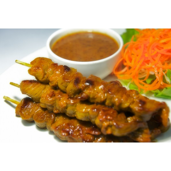 Beef With Satay Sauce