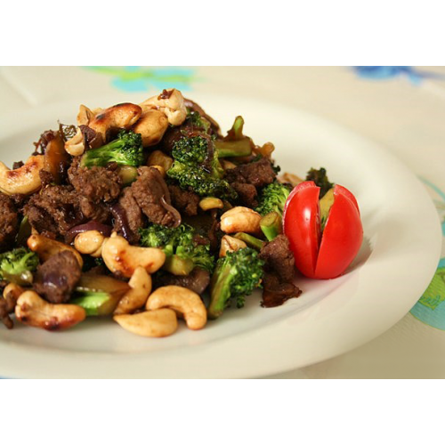 Beef with Cashewnuts