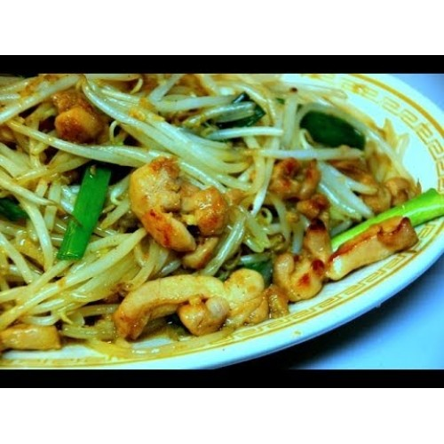 Chicken Chinese Style with Beansprouts