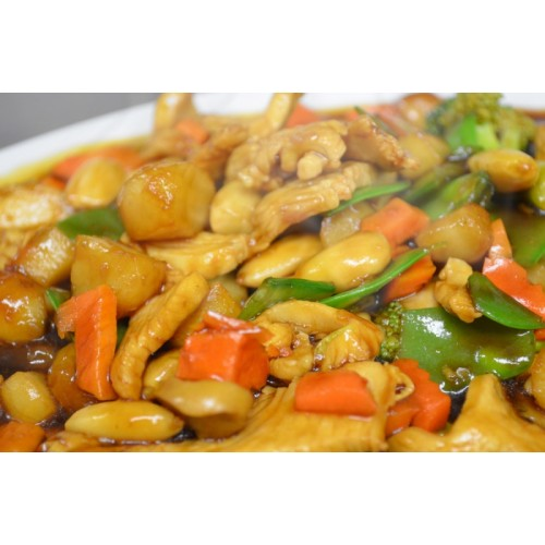 Chicken with Bamboo Shoot & Water Chestnuts