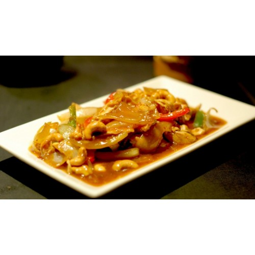 Chicken with Cashewnuts in Yellow Bean Sauce