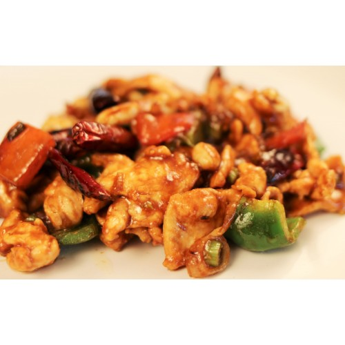 Kung Po Chicken with Cashew Nuts