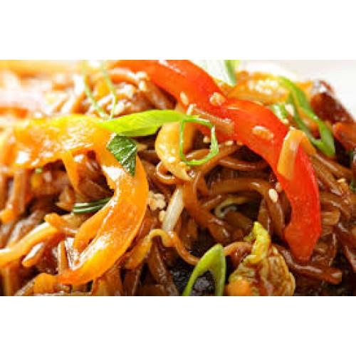 Malaysian Satay Chow Mein