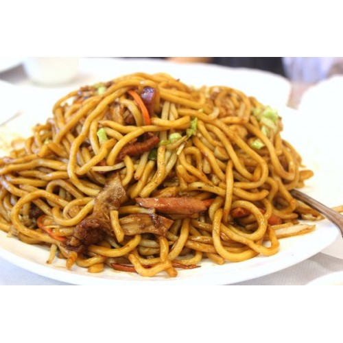 Roast Duck Chow Mein