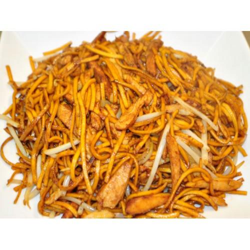 Shredded Chicken Chow Mein