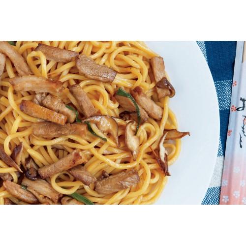 Roast Pork Chow Mein