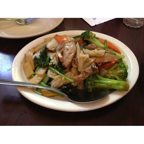 Roast Duck with Mixed Vegetables