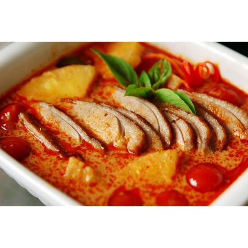 Roast Duck with Pineapple