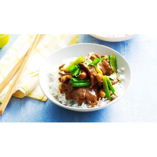 Kung Po Lamb with Cashew Nuts