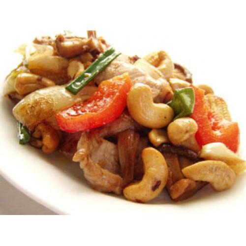 Kung Po Roast Pork with Cashew Nuts