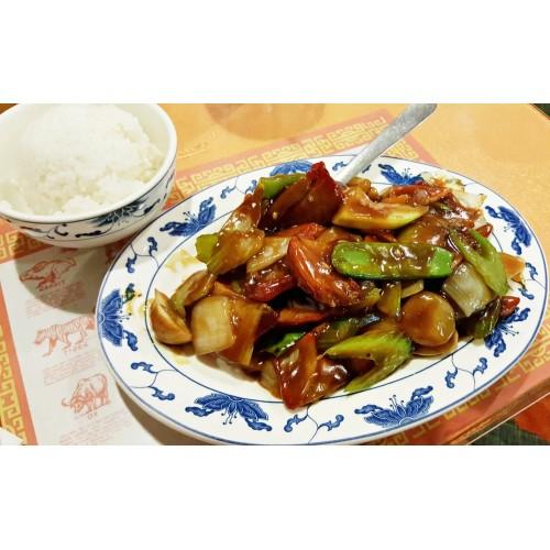 Roast Pork Szechuan Style