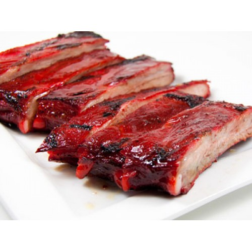 Barbecued Spare Ribs with Peking Sauce