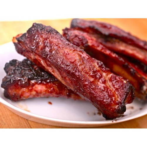 Barbecued Spare Ribs (dry)
