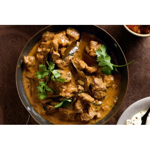 Fried Lamb with Thai Curry