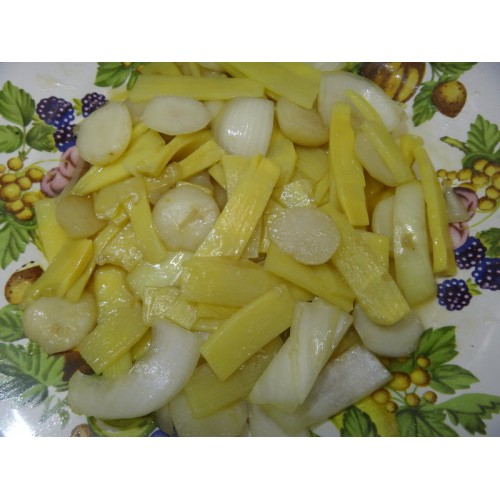 Fried Bamboo Shoots & Water Chesnuts