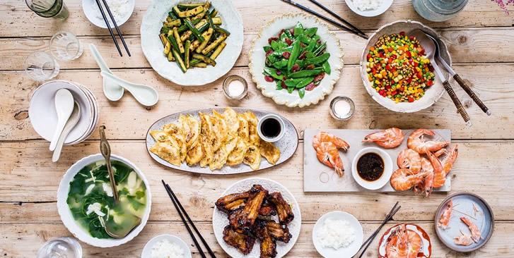 Chinese Food Display 01